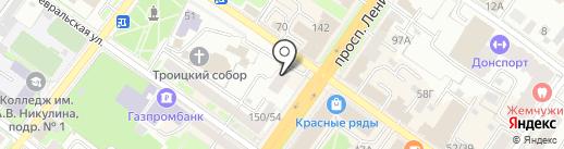 Вардек на карте Подольска