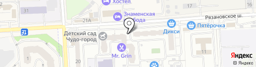 ВкусВилл на карте Подольска