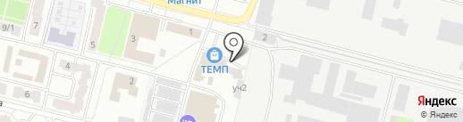 Феттер на карте Подольска