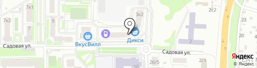 Карандаш на карте Подольска