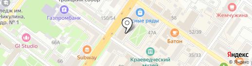 Первый визовый центр на карте Подольска