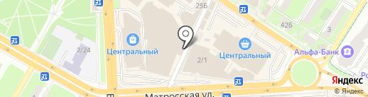 Магазин белорусской обуви на карте Подольска