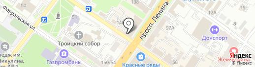 Евро-Электро на карте Подольска