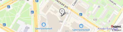 Пальто Подольск на карте Подольска