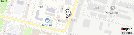 Мастермонолит на карте Климовска