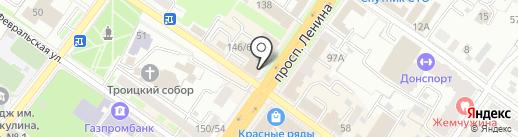 Кадастровый инженер на карте Подольска