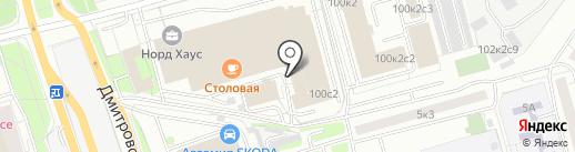 Обои Эко на карте Москвы