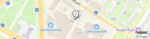 Магазин детской одежды на карте Подольска