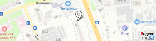 ОКНА-ЛИДЕР-2002 на карте Подольска