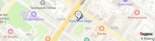Дельта Сервис на карте Подольска