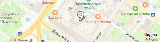 Регистратор РОСТ на карте Подольска
