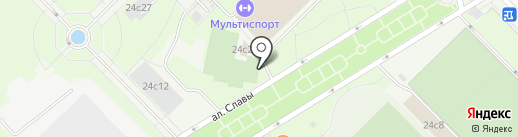 Стардог!s на карте Москвы