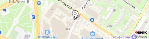 Магазин одежды для детей на карте Подольска