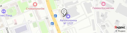 Автоспецтех 50 на карте Подольска