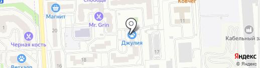 МАТЧ на карте Подольска