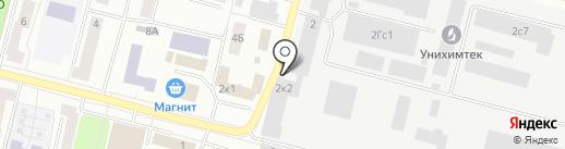Сонем на карте Подольска