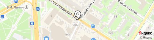 Первая полоса на карте Подольска
