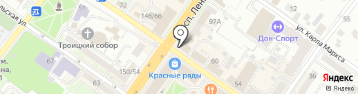 Квентин на карте Подольска