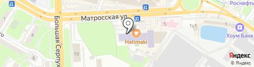 Московская областная таможня на карте Подольска