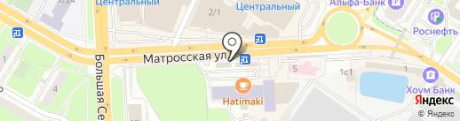 Золотая Корона на карте Подольска