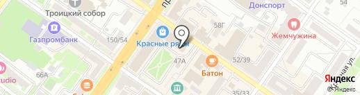 Адвокатский кабинет Володченко Е.С. на карте Подольска