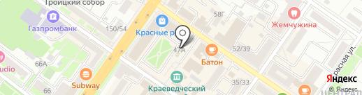 Стиль Сервис на карте Подольска