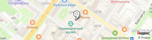 Сибтранко на карте Подольска