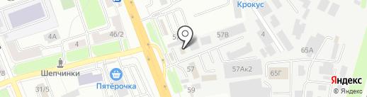B & M на карте Подольска