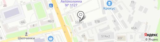 Прогресс-Транс на карте Подольска