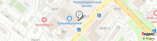 Кафе на карте Москвы