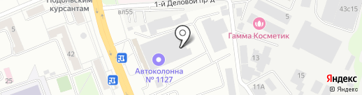ADVER-TEX на карте Подольска