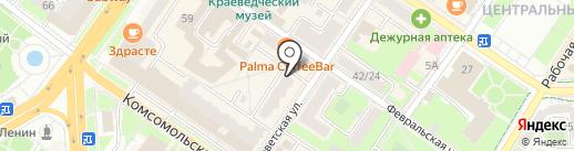 Т.С.С. Витом на карте Подольска