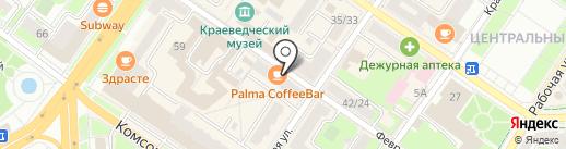 Магазин нижнего белья и чулочно-носочных изделий на карте Подольска