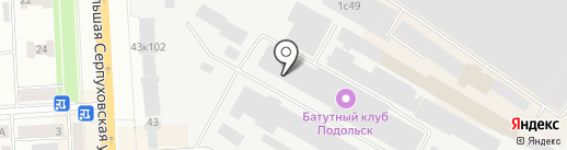 Амтел на карте Подольска