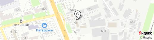 Дортехстой на карте Подольска