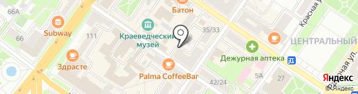 IT-problema на карте Подольска