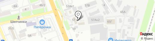Щёлковская на карте Подольска