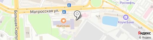 Айкам на карте Подольска