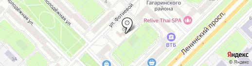 Транссервисэнерго на карте Москвы