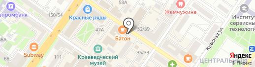 Аттик на карте Подольска