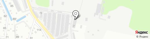 Элегант на карте Климовска