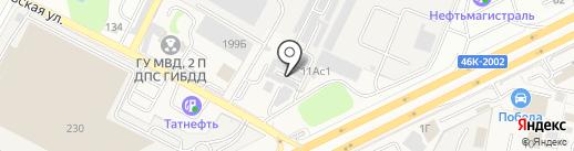 Магазин автозапчастей для иномарок на карте Подольска