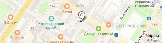 Империя кухни на карте Подольска