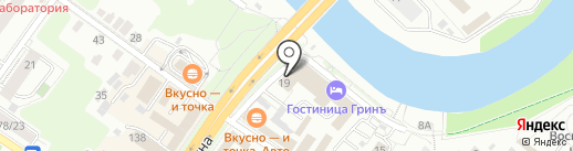 Аквафор на карте Подольска