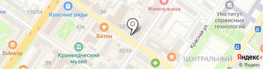 Баурат-Н на карте Подольска