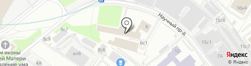 SaunaDream на карте Москвы