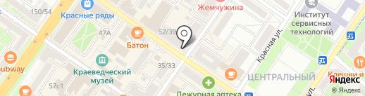 Окна Идеал на карте Подольска
