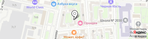 John Jillian`s Apartment на карте Москвы