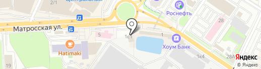 ПЭЗ им. Калинина на карте Подольска