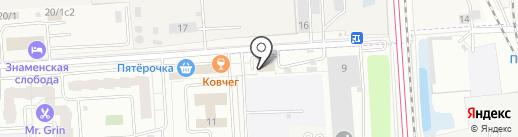 Слетать.ру на карте Подольска